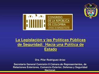 Dra. Pilar Rodríguez Arias