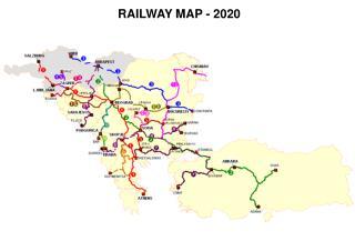 RAILWAY MAP - 2020