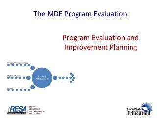 Program Evaluation  and Improvement Planning