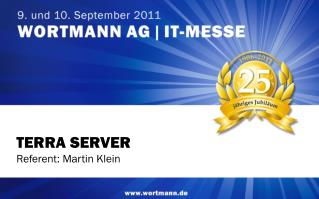 TERRA SERVER Referent: Martin Klein