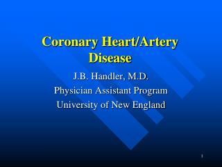 Coronary Heart/Artery Disease