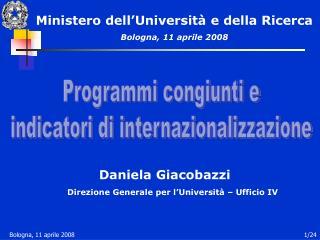 Daniela Giacobazzi