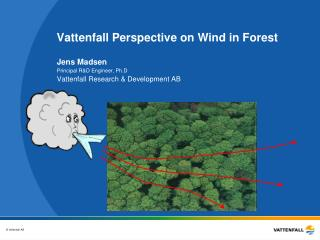 Vattenfall Perspective on Wind in Forest