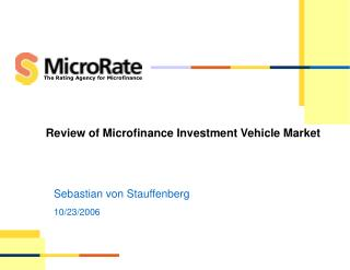 Review of Microfinance Investment Vehicle Market