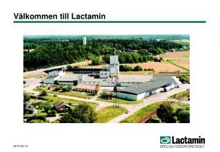 Välkommen till Lactamin
