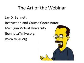 The Art of the Webinar