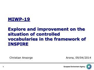 Christian  Ansorge Arona , 09/04/2014