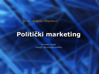 Politički marketing