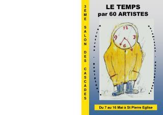 LE TEMPS  par 60 ARTISTES