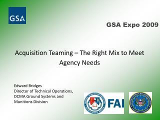 GSA Expo 2009