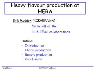 Heavy flavour production at HERA
