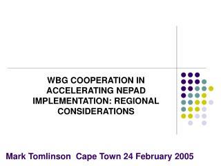 Mark Tomlinson  Cape Town 24 February 2005