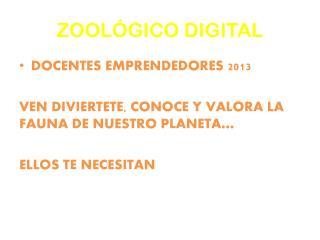 ZOOLÓGICO DIGITAL