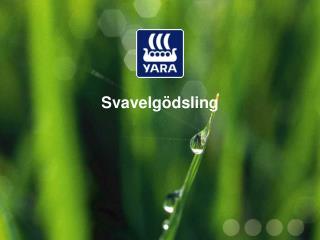 Svavelg�dsling