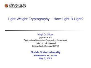 Light-Weight Cryptography – How Light is Light?
