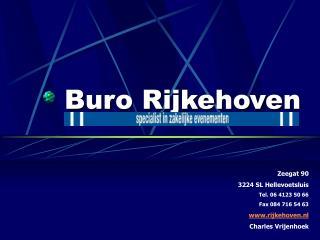Buro Rijkehoven