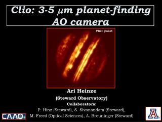 Clio: 3-5  ? m planet-finding AO camera
