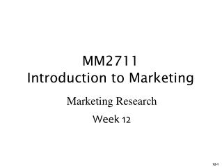 study guide for mm2711