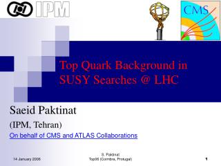 Top Quark Background in  SUSY Searches @ LHC
