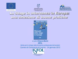 Lo Stage in alternanza in Europa: una selezione di buone pratiche