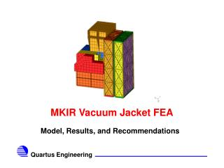 MKIR Vacuum Jacket FEA