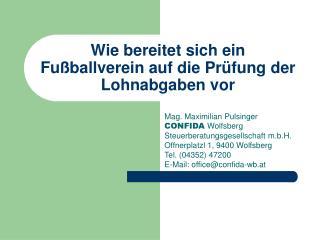 Wie bereitet sich ein Fu ballverein auf die Pr fung der Lohnabgaben vor