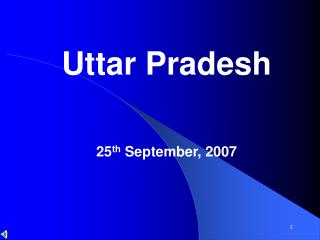 Uttar Pradesh  25th September, 2007