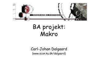 BA projekt: Makro