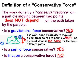 "Definition of a ""Conservative Force"""
