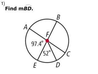 Find m BD .