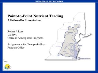Point-to-Point Nutrient Trading  A Follow-On Presentation