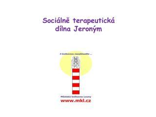 Sociálně terapeutická dílna Jeroným