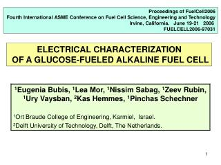 Proceedings of FuelCell2006