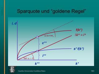 """Sparquote und """"goldene Regel"""""""
