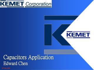 Capacitors Application Edward Chen