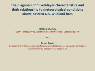 Background  Objectives Double  Trouble State Park (DTSP)  Wildfire Event WRF Model Configuration