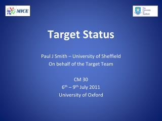 Target Status