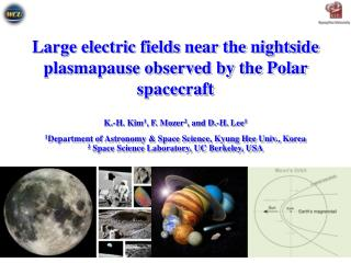 Large electric fields near the nightside plasmapause observed by the Polar spacecraft