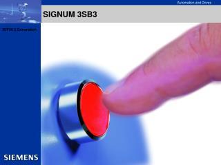 SIGNUM 3SB3