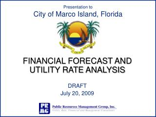 Presentation to City of Marco Island, Florida