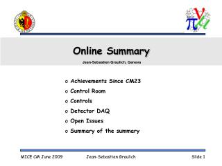 Online Summary
