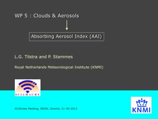 WP 5 : Clouds & Aerosols
