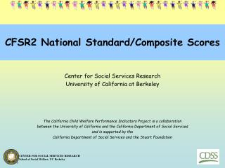 CFSR2 National Standard/Composite Scores