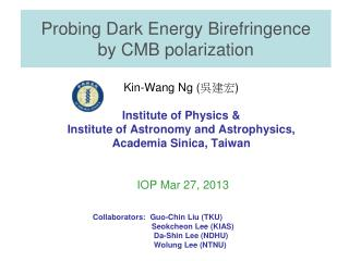 Probing Dark Energy Birefringence  by CMB polarization