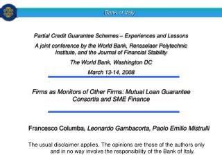 Firms as Monitors of Other Firms: Mutual Loan Guarantee Consortia and SME Finance