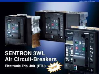 SENTRON 3WL  Air Circuit-Breakers  Electronic Trip Unit  (ETU)