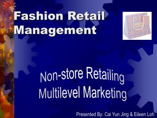 Fashion Retail Management