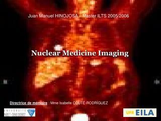 Juan Manuel HINOJOSA – Master ILTS 2005/2006