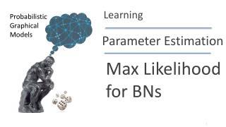Max Likelihood for BNs