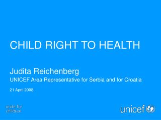CHILD RIGHT TO HEALTH